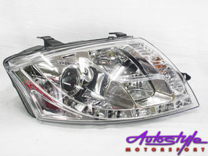 Audi TT 99-06 DRL Chrome Headlights (pair)-0