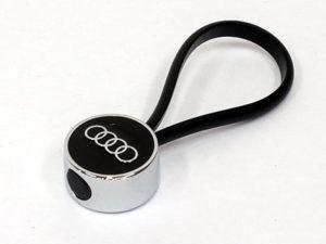 Audi Logo & Rope Keyring-0