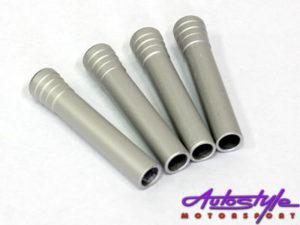 Suitable for E36 2-door Brush Silver Doorpins (set of 2)-0