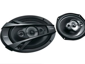 "Sony XS-N6940 6x9"" 500w 4way Speakers-0"