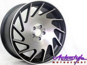 "18"" VS-Style T2 5/100 Alloy Wheels-0"