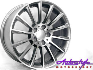"17"" QS 4038 S63 5/112 Gunmetal Alloy Wheels-0"
