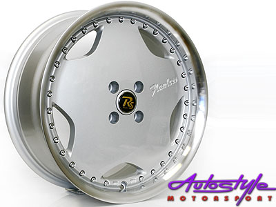 19″ Flawless Touring 5/112 Silver Alloy Wheels