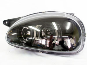 Opel Corsa Black-Out Side LED Headlights (pair)-0