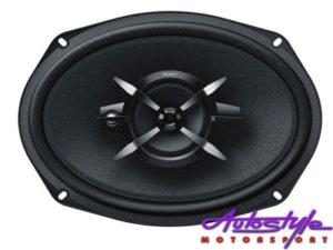 """Sony XS-FB6930 450w 6x9"""" 3way Speakers-0"""