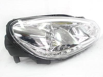 VW Golf MK6 DRL Chrome Headlights
