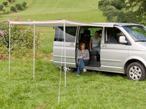 Retractable Vehicle Awning Tent (2.5m)-0