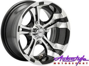 "13"" A-Line Zip 4/100 Alloy wheels-0"