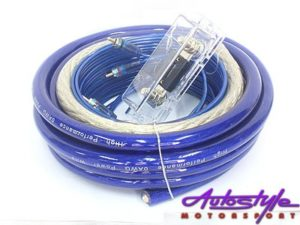 Fire StarAudio DSA-Kit10 800w 0 Gauge Wiring Kit-0