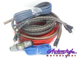 Reference Audio RA-EL4 4gauge Wiring Kit-0