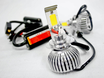 LED H4 Pure White Headlight Bulb Kit