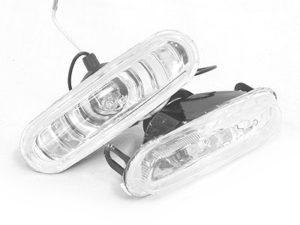WQ Series Universal Bumper Spotlights (12x4cm)-0