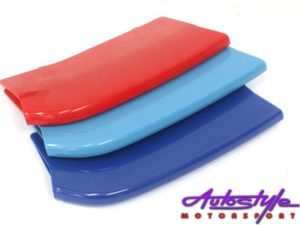 Blue & Red Grille Covers suitable to fit 5 Series-0