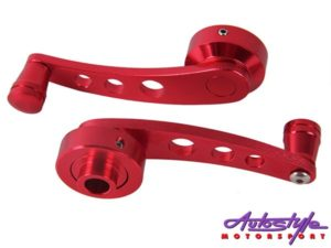 Aluminum Anodized Red Window Winder -0
