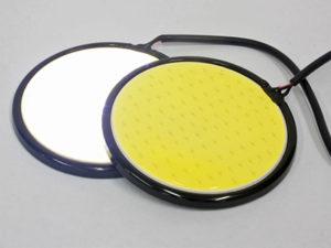 Universal DRL Cob Series Disc Lights 75mm (pair)-0