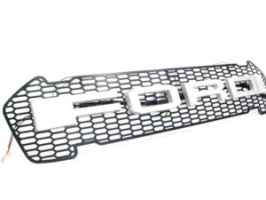 Ford Ranger 2016up Mesh Grill with Silver Logo-0
