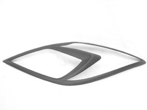Mazda BT-50 Matt Black Headlight Trim Covers (2013up)-0