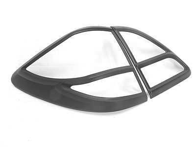 Mazda BT-50 Matt Black Tailight Trim Covers (2013up)