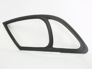 Toyota Hilux Matt Black Headlight Trim (2005-2011)-0