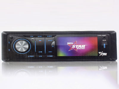 Starsound SSDVD-3050BT Mp3/DVD with Bluetooth and 3″ Screen