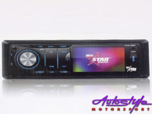 "Starsound SSDVD-3050BT Mp3/DVD with Bluetooth and 3"" Screen-0"