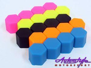 Silicon Wheel Nut Decorative Covers-0