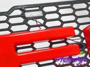 Ford Ranger 2016up Mesh Grill with Red Logo-22246