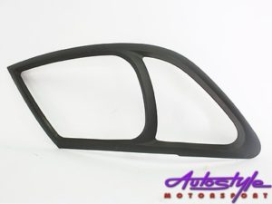 Toyota Hilux Matt Black Headlight Trim (2005-2011)-0
