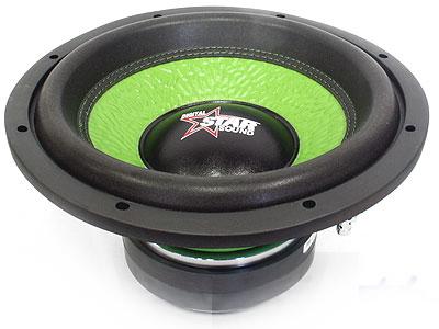 Starsound Spectrum Green Series 6500w dvc Subwoofer