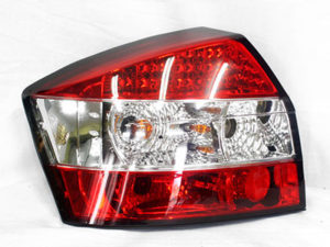Audi A4 B5series LED Red & Clear Tail Lamps-0