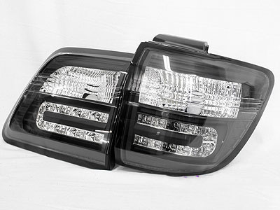 Toyota Fortuner Smoked Rear Tailights (pair)