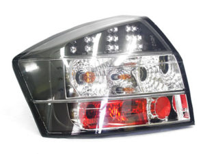 Audi A4 B5series LED Matt Black Rear Tailights-0