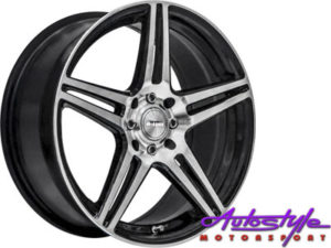 "17"" A-Line Oslo 4/100 & 4/108 Alloy Wheels-0"