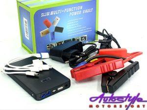 Slimline Multi-Function PowerBank & Booster Kit (8000mah)-0