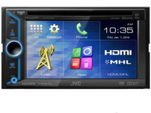 JVC KW-V31BT Double Din DVD Receiver-0