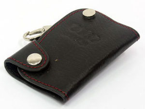 Audi Leather S-Line Style Keyring-0