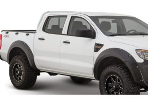 Ford Ranger T6 Matt Black Wheel Arches (set)-0