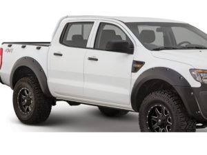Ford Ranger T6 Matt Black Wheel Arches (set)-0