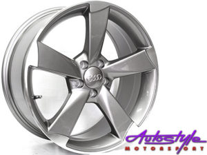 "17"" RS3 M1695 Gunmetal 5/100 Alloy Wheels-0"