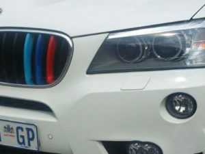 Suitable for X3 & X4 Clip-on Grille Stripes-0