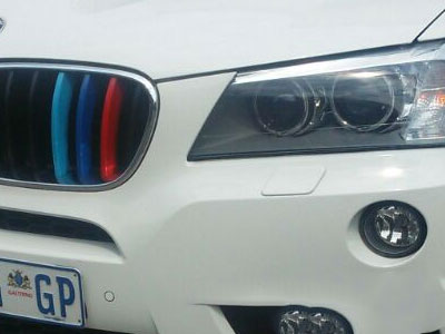 Suitable for X3 & X4 Clip-on Grille Stripes