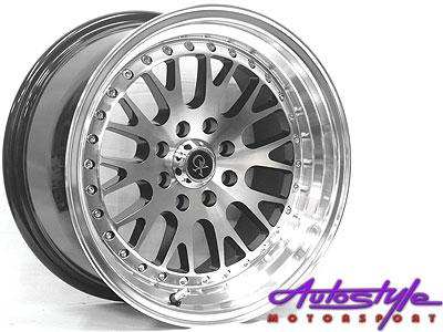 15″ M1822 4/100 & 4/108 Alloy Wheels