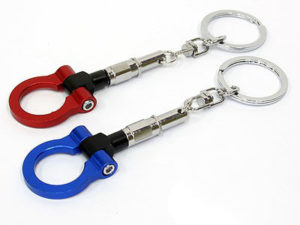 Anodized Towhook Design Key Ring-0