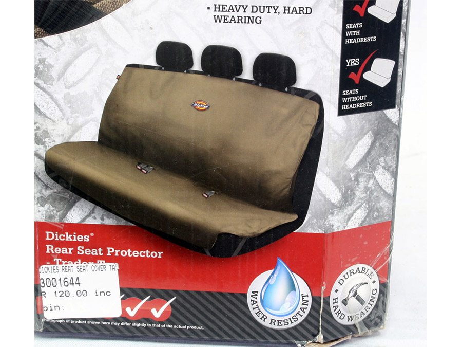Dickies Design Bakkie/Rear Seat Cover Set (tan)