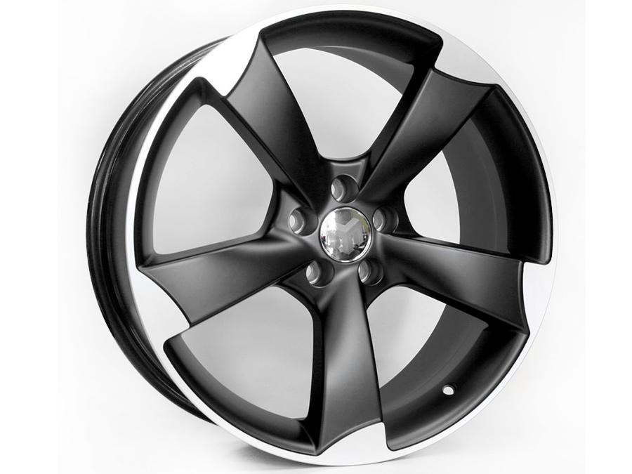 17″ MG RS3 Matt Black 5/100 Alloy Wheels