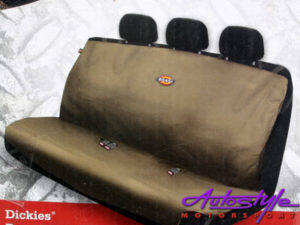 Dickies Design Bakkie/Rear Seat Cover Set (tan)-0