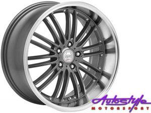 "17"" A-Line Razor 4/100 GMML Alloy Wheels-0"
