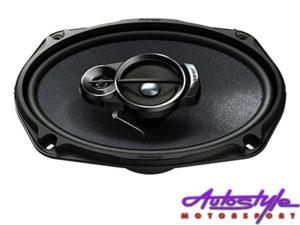 "Pioneer TS-A6966S 420w 3way 6x9"" Speakers-0"