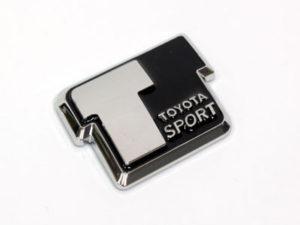 Toyota Sport Black & Chrome Badge-0