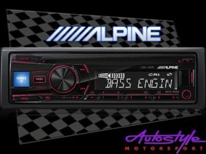 Alpine CDE-150E mp3 cd front loader with USB-0